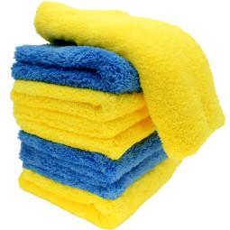 15X Cleaning No Scratch Bulk Detailing Wash Cloth Towel Car Interior Polishing Rag Wash