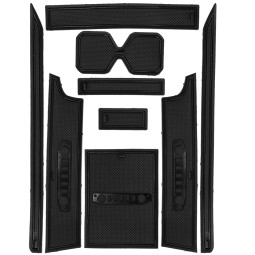 For Suzuki Jimny JB64W 2019 2020 Gate Door Slot handrail Box Center Console Mat Pad