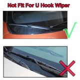 LHD Front Wiper Blades For Renault Dacia Dokker Express 2016 - 2019 Windshield Front 22 +16