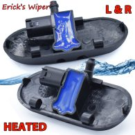 2Pcs Heated Wiper Washer Sprayer Nozzle Left Right Jet For Audi A2 A3 A4 B6 B7 A4 Car
