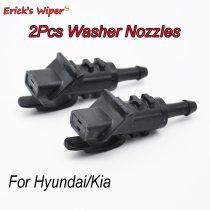 2Pcs Front Windshield Washer Jet Nozzle For Hyundai i30 MK1 2007-2012 OE# 98630-2L100