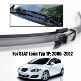RHD & LHD Front Wiper Blades For SEAT LEON 2005 - 2012 Windshield Windsceen Front 26 +26