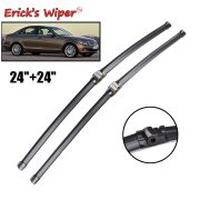 LHD Front Wiper Blades For Mercedes Benz C Class W204 2009 - 2012 Windshield 24 +24