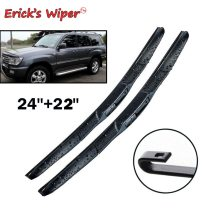Front Hybrid Wiper Blades For Toyota Land Cruiser 100 / 200 Windshield Front 24 +22