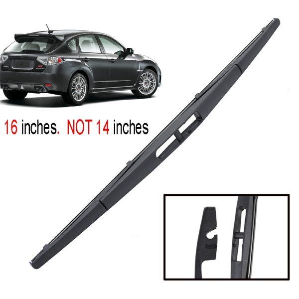 16  Rear Wiper Blade For Subaru Impreza Hatchback MK3 2007 -2013 Windshield Rear
