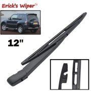 12  Wiper Blade & Arm Set Kit For Mitsubishi Pajero ( Shogun ) 2007 - 2015 Windshield Rear