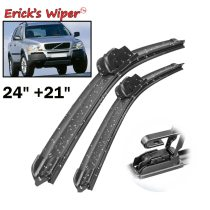 Front Wiper Blades For Volvo XC90 MK1 2002 2003 2004 Windshield Front 24 +21