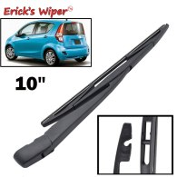 10  Rear Wiper Blade & Arm Set Kit For Suzuki Splash 2008 Onwards Windshield Rear