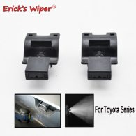 2Pcs Front Windshield Wiper Washer Jet Nozzle For Toyota Matrix 4Runner T270 2010 2014