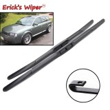LHD Front Wiper Blades For Audi A6 C5 4B 1997 - 2004 Windshield  22 +22  / 22 +21
