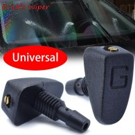 Front Windshield Wiper Washer Jet Nozzle Screw Nut Type Fan Spout Cover Water Outlet