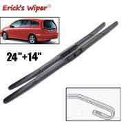 Front Hybrid Wiper Blades For Honda Stream 2001 - 2005 Windshield 24 +14