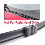 LHD Front Wiper Blades For Mazda 3 Mazda3 BK 2003 - 2009 Windshield 21 +19