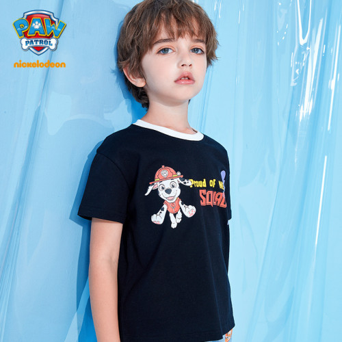 PAW Patrol Boys Cotton T-shirt Summer Top