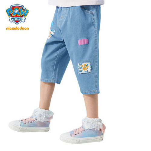 PAW Patrol Girls Denim Shorts Summer Jeans