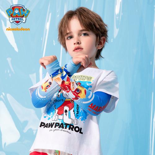 PAW Patrol Kids Oversleeve Ice Silk Summer Sun Protection