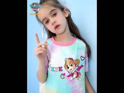 PAW Patrol Girls Cotton T-shirt