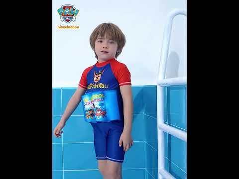 PAW Patrol Kids One-piece Buoyancy Swimsuit with Removable EVA Cotton