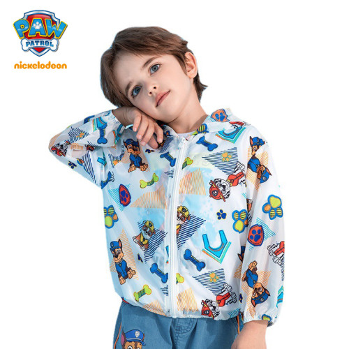 PAW Patrol Boys Sun-protective Clothing Summer Outdoor Breathable Thin Coat
