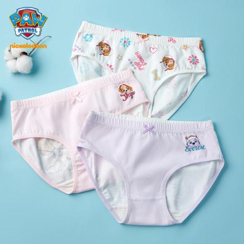 PAW Patrol Girls Cotton Briefs Underpants 3PCS