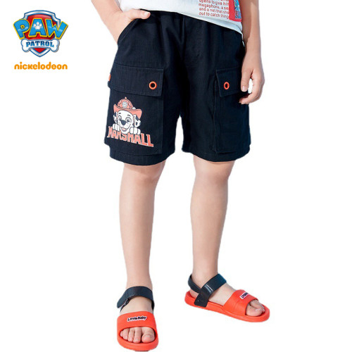 PAW Patrol Boys Cotton Shorts Loose Summer Overalls
