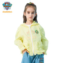 PAW Patrol Girls Sun-protective Clothing Summer Outdoor Breathable Thin Coat