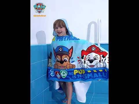 PAW Patrol Kids Hooded Sports Quick-drying Bath Towel