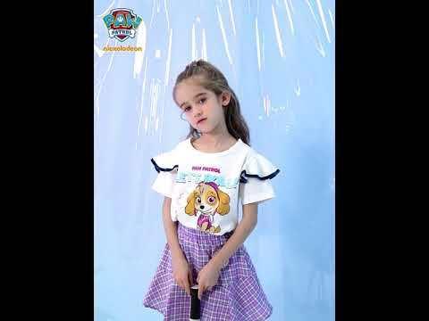 PAW Patrol Girls Pleated Skirt Summer