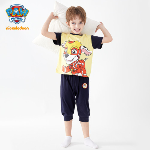 PAW Patrol Boys Short Sleeve T-shirt Pants Two Piece Sets Summer