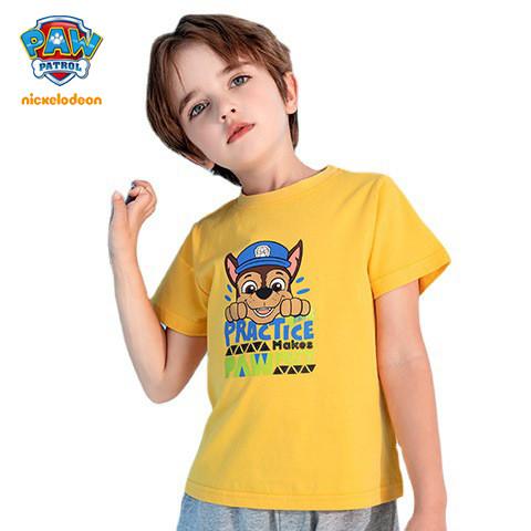 PAW Patrol Kids Cotton T-shirt Boys Girls Summer Top