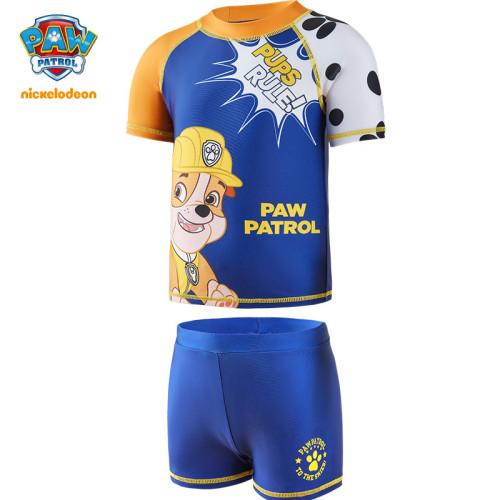 PAW Patrol Boys Split Swimsuit 2-piece Shorts Cartoon Swimwear