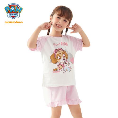 PAW Patrol Girls Cotton Pajamas Two Piece Sets