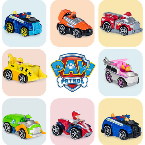 PAW Patrol Metal Classic Collectible Die-Cast Vehicles 1:55 Scale