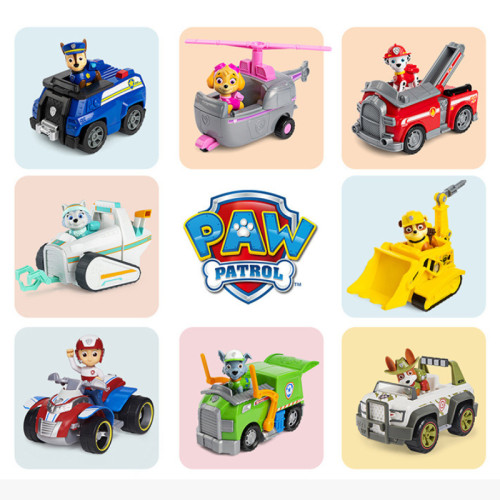 Paw Patrol Vehicle with Collectible Figure for Kids Aged 3 and Up