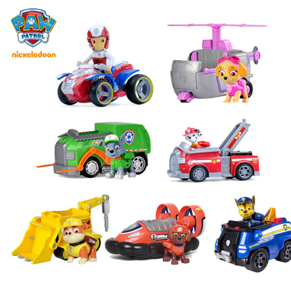 PAW Patrol Rescue Vehicle with Collectible Figure for Kids Aged 3 and up