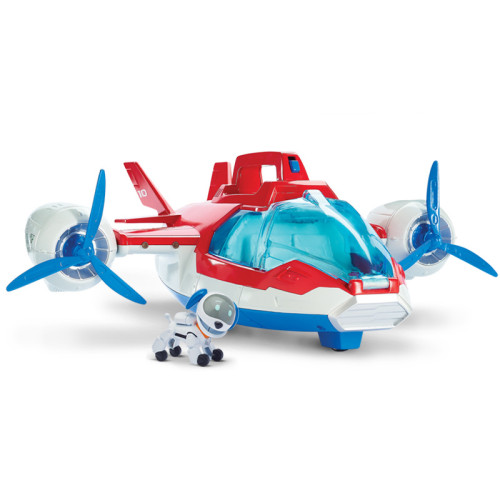 PAW Patrol Toys Air Rescue Aircraft Dog Patrol Aircraft Inertia Toy for Kids Aged 3 and up
