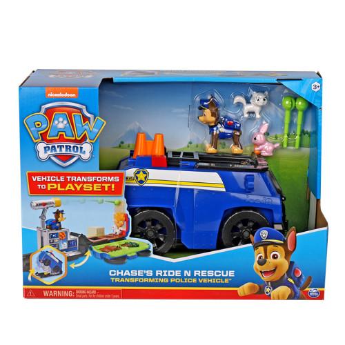PAW Patrol Rescue Vehicle Deformed Car Inertial Deformation Scene Toy Car