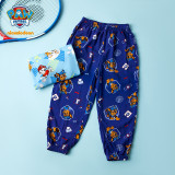 PAW Patrol Boys Mosquito Trousers Kids Thin Ice Silk Pants Summer