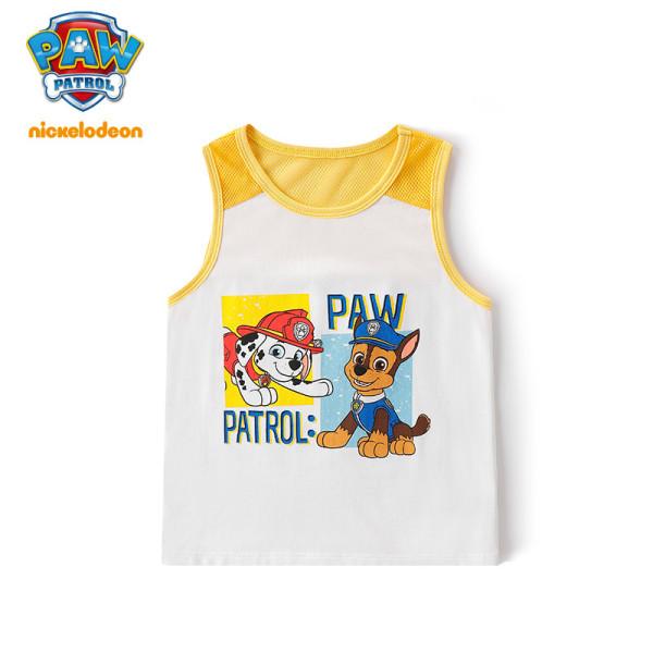 PAW Patrol Kids Cotton Vest Boys GIrls Sleeveless Top