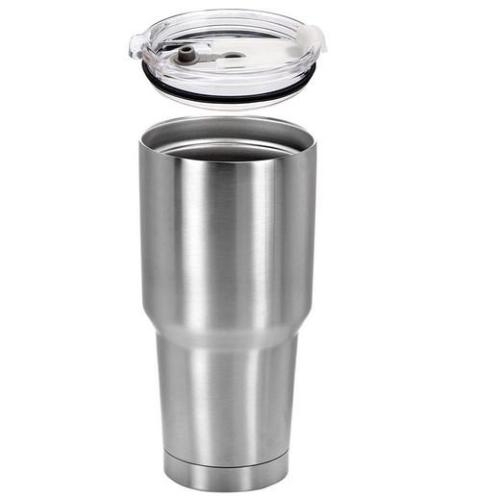 BLANK 15/30 OZ STAINLESS STEEL INSULATED VACUUM TUMBLERS WITH LID