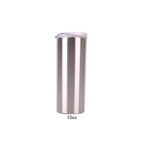 15oz Skinny Tumblers Stainless Steel Vacuum Double Wall , Party Supplies