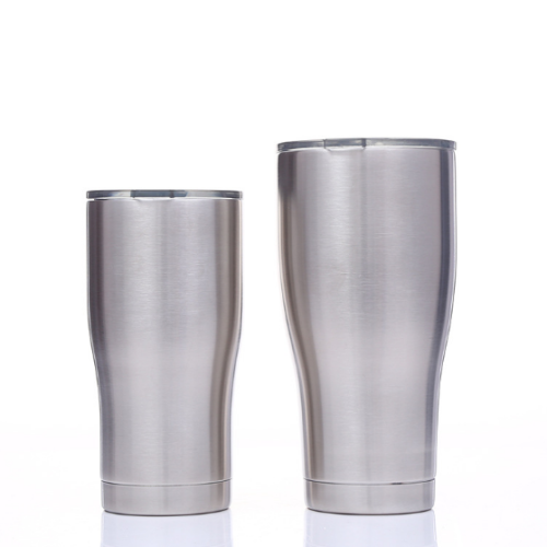 Case of 25 *20oz Modern Double Wall Stainless Steel Vacuum Insulated Tumbler with Lid and Plastic Straw