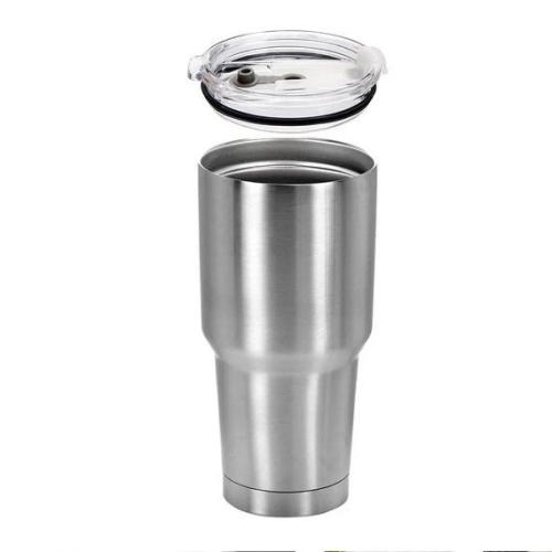 Case of 25 *30oz Regular STAINLESS STEEL INSULATED VACUUM TUMBLERS WITH LID