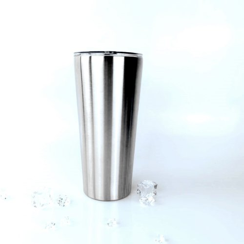 32OZ-TAPERED New stainless steel tumbler double wall insutation with lid
