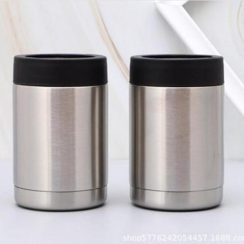 10pcs 12OZ-CANCOOLER-stainless steel tumbler double walled insulation