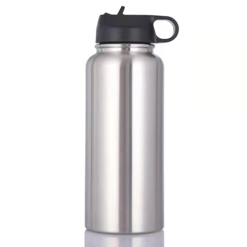 32oz Tumbler Flask Vacuum Insulated Flask Stainless Steel Water Bottle Wide Mouth Outdoors Sports Bottle