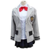 Anime Tokyo Ghoul Touka Kirishima School Uniform Cosplay Costume Girls