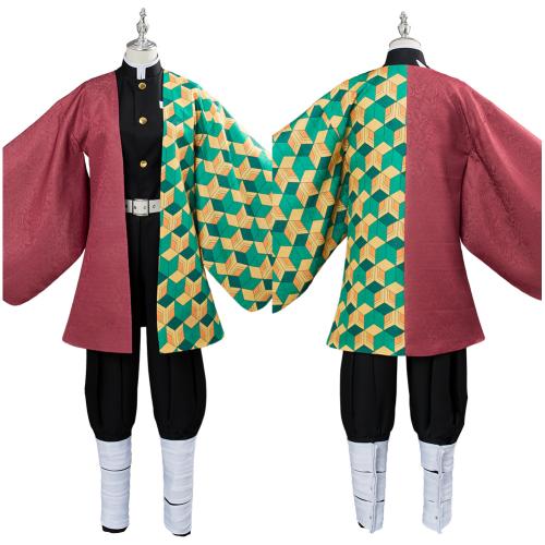 Demon Slayer: Kimetsu no Yaiba Tomioka Giyuu Cosplay Costume