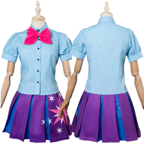 My Little Pony Twilight Sparkle Human Cosplay Costume