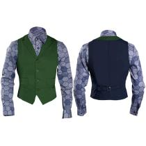 Dark Knight Joker Hexagon Shirt + Vest costume Tailor Made